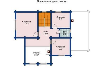 схема планировки дома 190